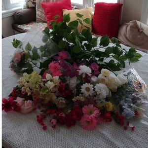 Other - Huge lot of artificial flowers